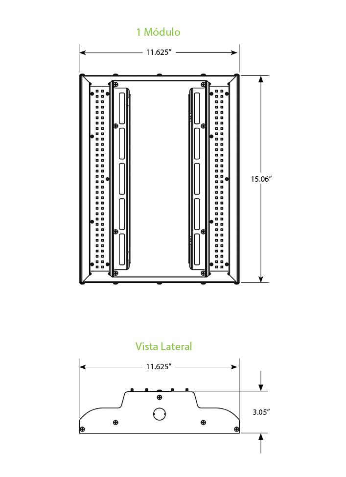 Luminaria LED GE Albeo ABV101V579 de 95 watts Luminaria